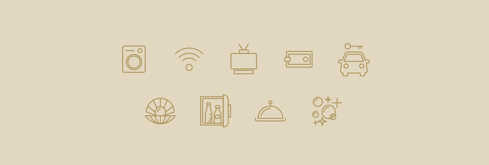 Иконки для сайта гостиницы